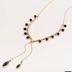 Gorjana Palisades Versatile Necklace Black Onyx